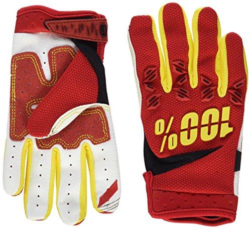Inconnu 100% Airmatic Schutz-Handschuhe für Kinder S rot