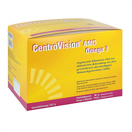 CENTROVISION AMD Omega 3 Kapseln, 270 St