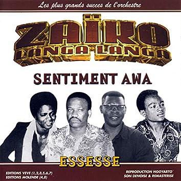 Sentiment Awa, Essesse: Les Plus Grands Succés De L'orchestre Zaïko Langa Langa