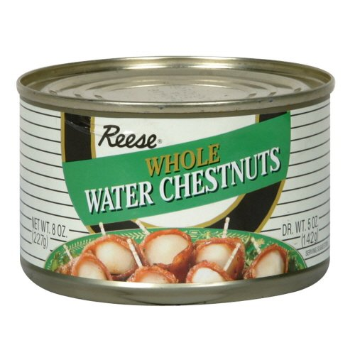 Reese Whole Water Chestnuts 8 oz (Pack of 6)