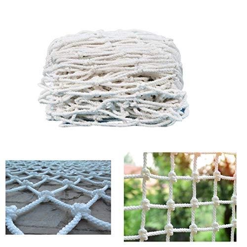 MILASIA Oxford Tarnnetz, Schutznetz für Balkon und Berg, Sicherheitsnetz, Sicherheitsnetz, Bergsteigen, Geländer, Treppenhaus, Gitter
