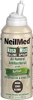 NeilMed Pharmaceuticals - NasaMist Saline Spray with Xylitol - 4.4 oz.