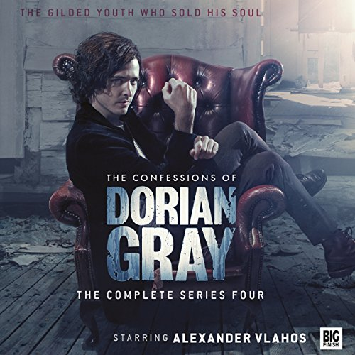 The Confessions of Dorian Gray Series 04                   By:                                                                                                                                 Roy Gill,                                                                                        Sam Stone,                                                                                        James Goss,                   and others                          Narrated by:                                                                                                                                 Alexander Vlahos,                                                                                        Ayesha Antoine,                                                                                        Yasmin Bannerman,                   and others                 Length: 5 hrs and 48 mins     3 ratings     Overall 4.0