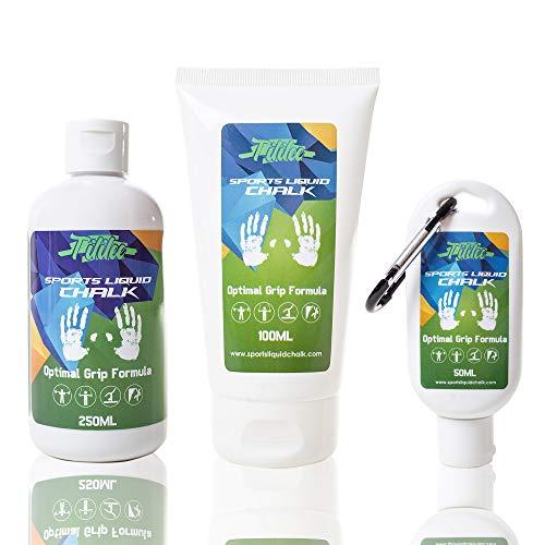 Tililee Sports Tiza líquida para Halterofilia, Yoga, Escalada y Gimnasio, con fórmula de Agarre óptimo - 1.70-50 ml