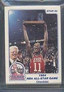 1984 Star Basketball All-Star Game Bagged Set - NBA Team Sets