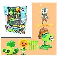 1セットの植物対。ゾンビのおもちゃPVZのおもちゃ5歳の男の子のクリスマスプレゼントのための親子の相互作用のおもちゃ