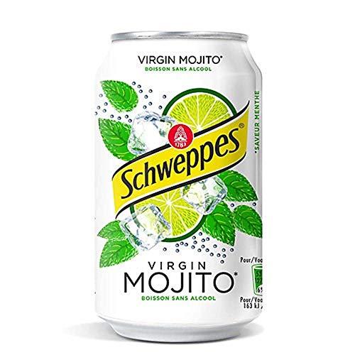 Schweppes Virgin MOJITO - 24x 0,33 Litro - (Sin alcohol)