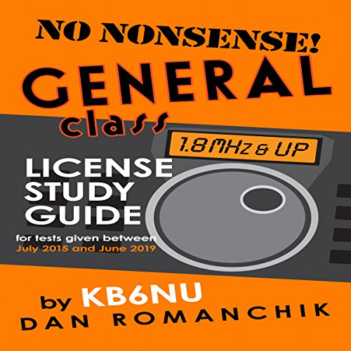 No-Nonsense General Class License Study Guide cover art
