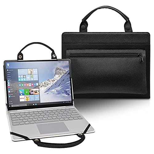 LiuShan Funda protectora 2 en 1 + bolsas portátiles para Lenovo Flex 6 11 6-11IGM/Flex 4 11 4-1130/ThinkPad 11e Yoga Gen 6 & 12.5 pulgadas Lenovo Yoga 720 12 720-12IKB portátil, negro