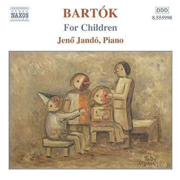 Bartok: Piano Music, Vol. 4: For Children