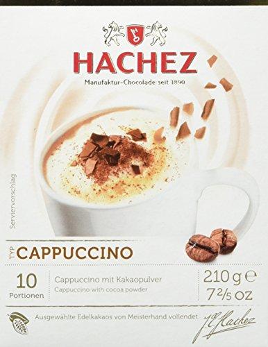 Hachez Heißgetränk - Cocoa de HACHEZ Cappuccino, 2er Pack (2 x 210 g)