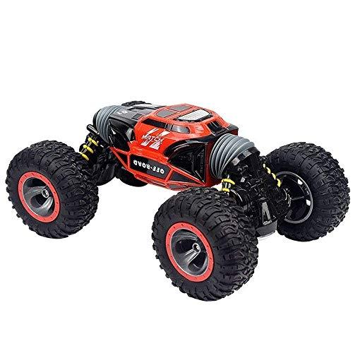 Coches de juguete RC coche de deriva del truco de las cuatro ruedas juguete infantil de coche 2.4G eléctrico de control remoto modelo de juguete 4WD de doble cara Stunt escalador Off-Road deformado Bi