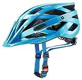 Uvex I-Vo CC Casco de Ciclismo, Unisex Adulto, Azul, 52-57 cm
