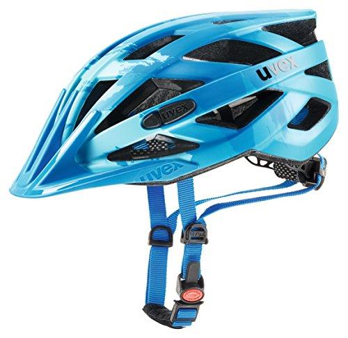 Uvex Unisex– Erwachsene i-vo cc Fahrradhelm, lightblue-blue, 56-60 cm