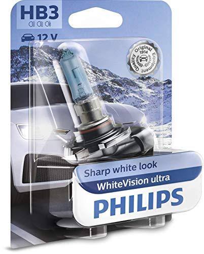 Philips WhiteVision ultra HB3 bombilla faros delanteros, blister individual