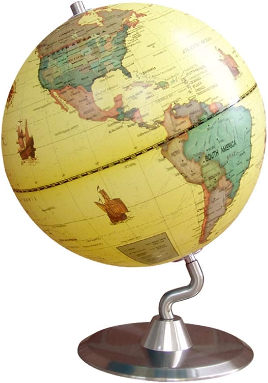 Starsou Antikdesign globus 25 cm, aktuelle politische Karte, Karte, Karte, Metall,Antikstil,Modell YWB6013-23,Gelb B07PVSGF25   Louis, ausführlich  c9f3a2