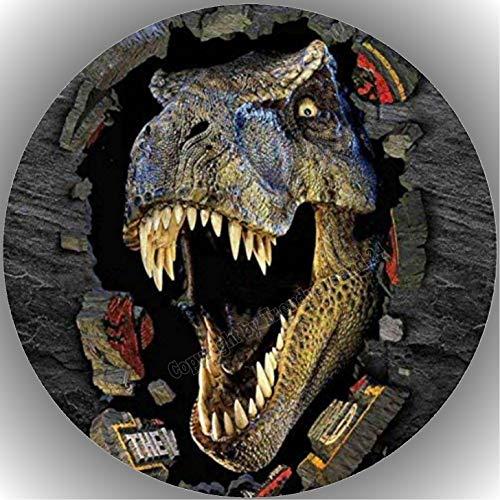 Fondant Tortenaufleger Tortenbild Geburtstag Dinosaurierer AMA33