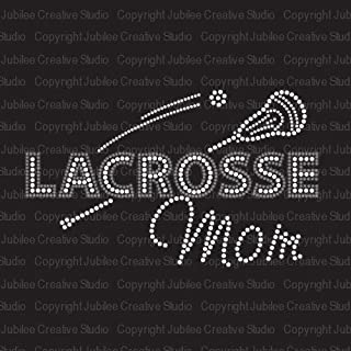 lacrosse iron on