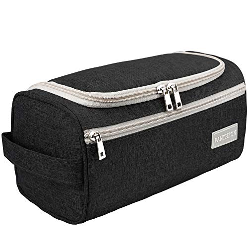 Pantheon Toiletry Organizer Wash Bag Hanging Dopp Kit Travel for Bathroom Shower