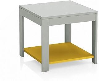 Hkwshop Mesa Auxiliar Pequeña Mesa de Centro Mini Mesa de Centro Minimalista Moderna Estructura compacta Hermosa Persona...