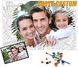 personalizados para pintar por números Kits para adultos, Pintura Digital para Niños,Pintura Al Óleo DIY Kit para Principiantes - 40x50cm(Sin marco)