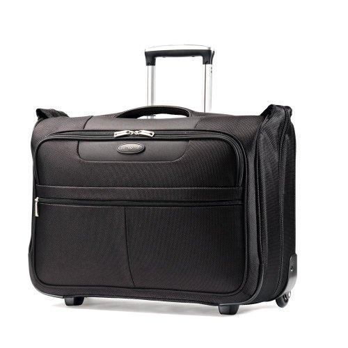 Samsonite Luggage L.i.f.t. Carry-On Wheeled Garment Bag, Black, 21'