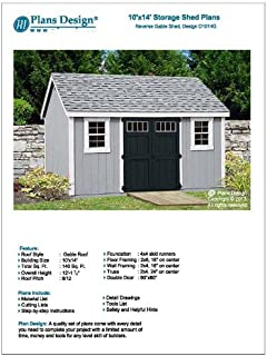 Best 10 x 14 shed plans Reviews