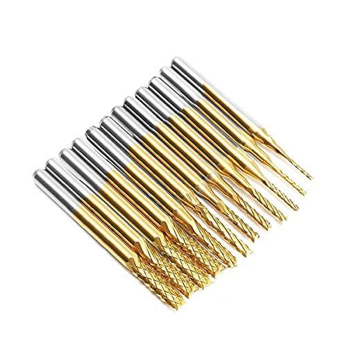 AFUNTA 12 puntas de titanio para nariz de 0,8-3,17 mm con fo