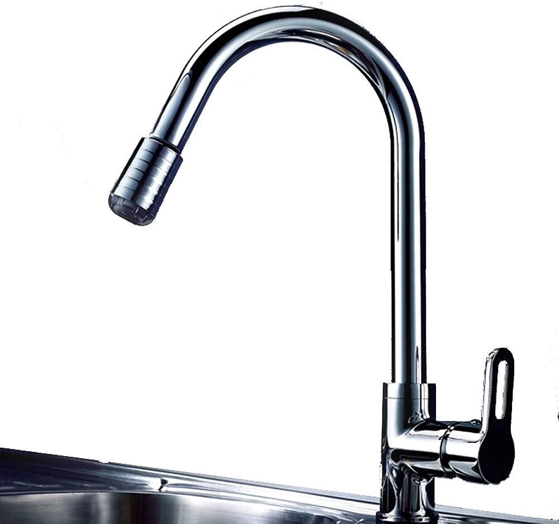LH-Küchenarmatur:Armatur für die Küche - Einhand Ein Loch Chrom Pull-out Pull-down Freistehend Moderne Kitchen Taps Andere Lnder