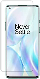 Oneplus 8 Pro Screen Protector, Baytion Oneplus UV Tempered Glass [Exclusive Solution for Ultrasonic Fingerprint][Full Adh...