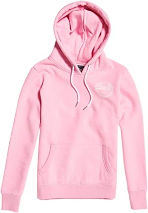 Superdry Women's V Logo Heritage Entry Hood Jumper
