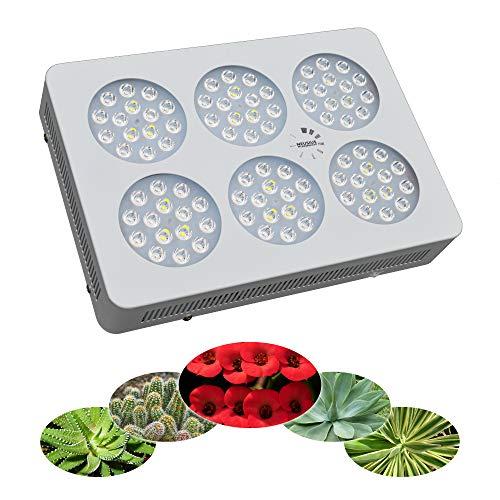 LED-Pflanzenlampe Floris 270 Vollspektrum für alle Zimmerpflanzen wie z.B. Kakteen, Palmen, Yucca, Bonsai, Euphorbien Blüte