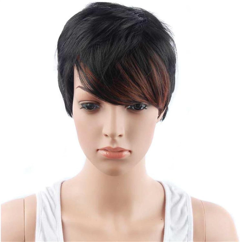 XY-QXZB Perücke Europa und die Vereinigten Staaten Fashion Frau Bobo kurzen Abschnitt der schrittweisen Farbe gerade Haare B076ZQJ41C Auktion  | Sonderangebot
