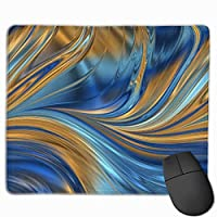 """Blue Orange Mouse Pad Non-Slip Rubber Gaming Mouse Pad Rectangle Mouse Pads for Computers Desktops Laptop 9.8"""" x 11.8"""""""