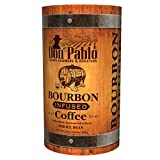 25oz Don Pablo Bourbon Infused Specialty Coffee - Whole Bean Coffee -25 ounce bag in collectible tube