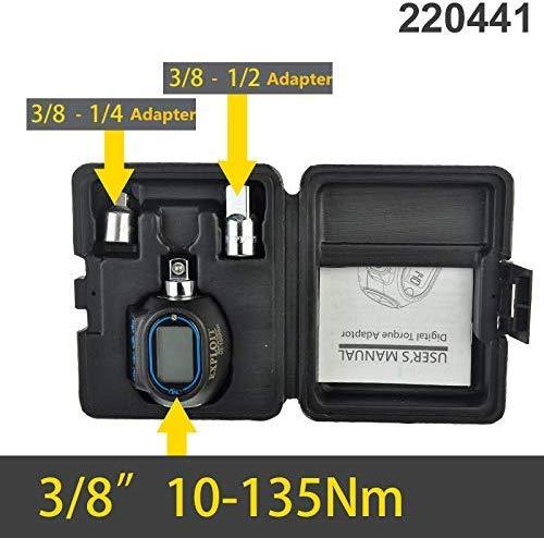 電子式デジタル表示器トルクテスタートルクレンチトルクメータートルク表 (10-135Nm, レンチなし)