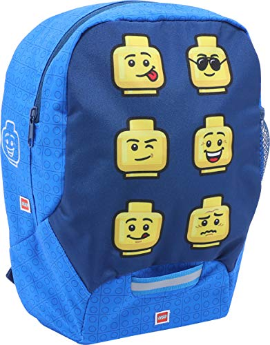 LEGO Bags Children's Backpack, ca. 32,5 x 24 13 cm, Faces