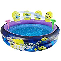 💦 GALACTIC SPACE POOL WITH TARGETS AND BLASTERS: are you ready to swim to infinity and beyond this summer? It's time to fill up the pool and put the little ones into swimming costumes for an afternoon of water fun. This kids swimming pool comes with ...