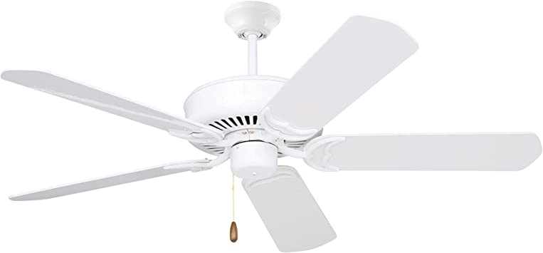 Emerson Ceiling Fans Cf755ww Designer 52 Inch Energy Star Ceiling Fan Light Kit Adaptable Appliance White Finish Amazon Com