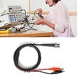 BNC Clip Cable coaxial, Función Generador de señal Línea de prueba Generador de señal Accesorios 90cm 50Ω