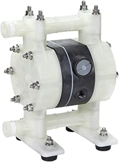 PROLUBE Air Operated Double Diaphragm Pump | 1/2-inch Pump Inlet/Outlet | Polypropylene Casing | Santoprene Diaphragm | 11.9 GPM | Self Priming | Explosion Proof | Submersible (44722)