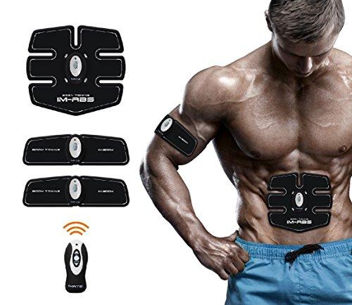 Abdominal Trainer, Abs Fitness Machine for Men & Women,Wireless &...