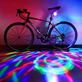 Disco Ball Lights, DJ Lighting Strobe Lamp with More Than 10 RGB Flash Modes for Bikes and Party