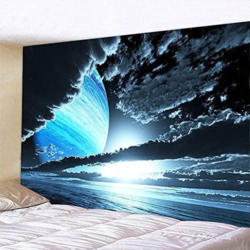 Tapiz de decoración de pared estilo nórdico hogar dormitorio sala de estar decoración de dormitorio fondo de pared tela colgante A4 180x200cm