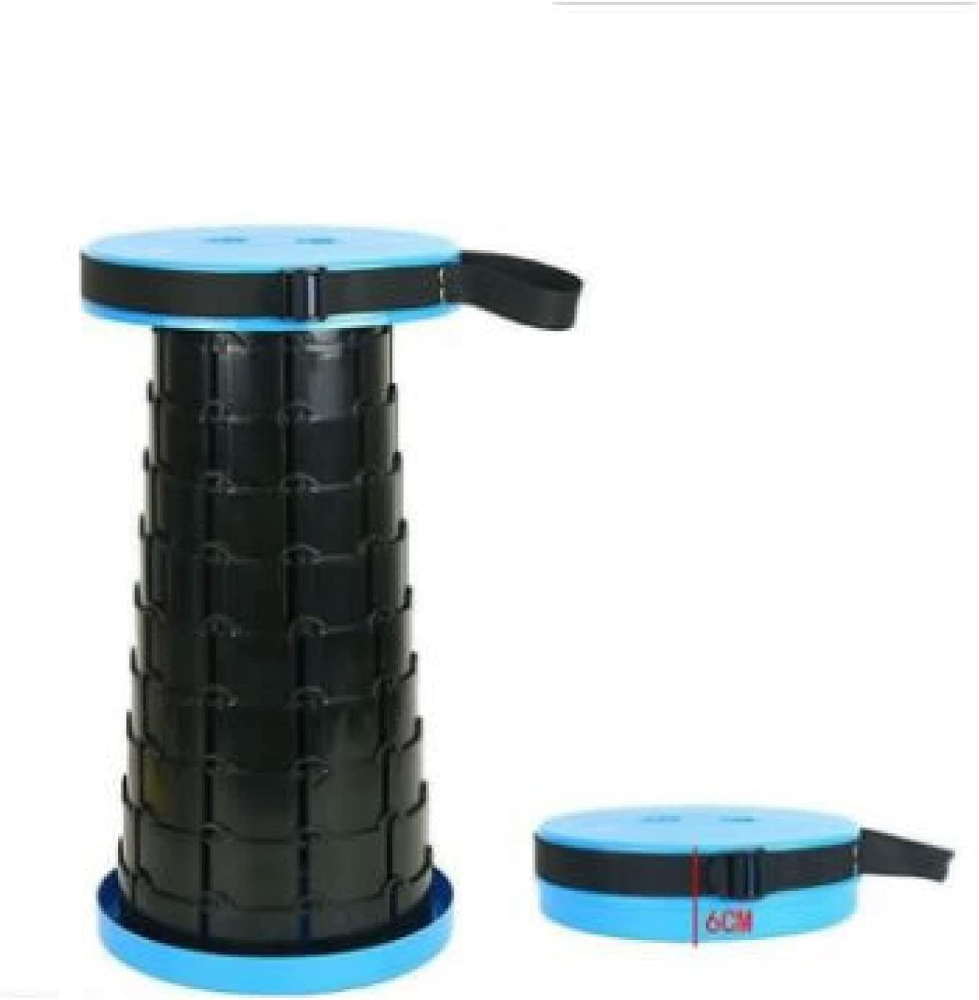 IADZ Taburete Plegable, retráctil, Plegable, telescópico, Ligero con Capacidad de Carga de 400 Libras, excelente para Acampar para niños y Adultos