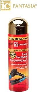 Fantasia High Potency IC Heat Protector Straightening Serum, Hair Polisher, 6 oz.