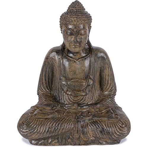 KOH DECO Statue Bouddha Assis 55 cm