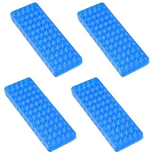 Reagenzglas Ständer Labor Gefäßständer Zentrifugenröhrchen Kunststoff Reagenzglasständer Ständer Test Tube Rack Reagenzglashalter für 0,5 ml/1,5 ml/2 ml Zentrifugenröhrchen, Zufällige Farben 4 Stück