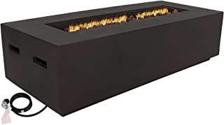 rectangle fire pit insert