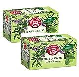 Pompadour 1913 Té de hierbas adelgazantes con mate y verbena - 2 x 18 Bolsitas de té (72 gramos)